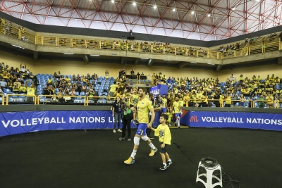 Goiânia (GO) - 01.06.2018 - Liga das Nações - Brasil x Coreia do Sul