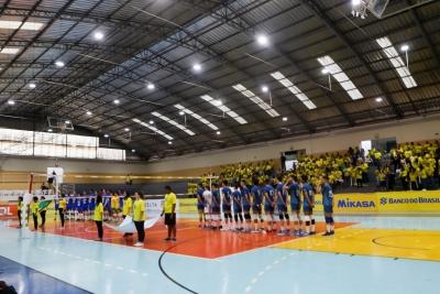 Santa Rita do Sapucaí (MG) - Amistoso sub-19 masculino Brasil x Argentina - 08.09.2018