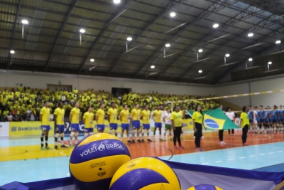 Santa Rita do Sapucaí (MG) - Amistoso sub-19 masculino Brasil x Argentina - 11.09.2018