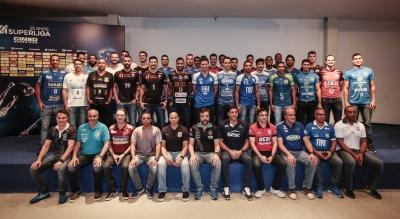 São Paulo (SP) - 17.10.2018 - Lançamento Superliga Cimed masculina 2018/2019