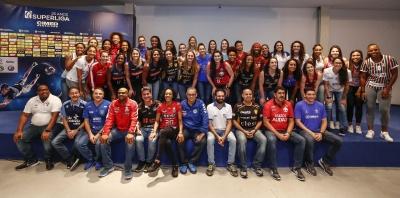 São Paulo (SP) - 08.11.2018 - Lançamento Superliga Cimed feminina 2018/2019