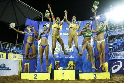 Campo Grande (MS) - 24.11.2018 -  Finais Femininas Circuito Brasileiro Open
