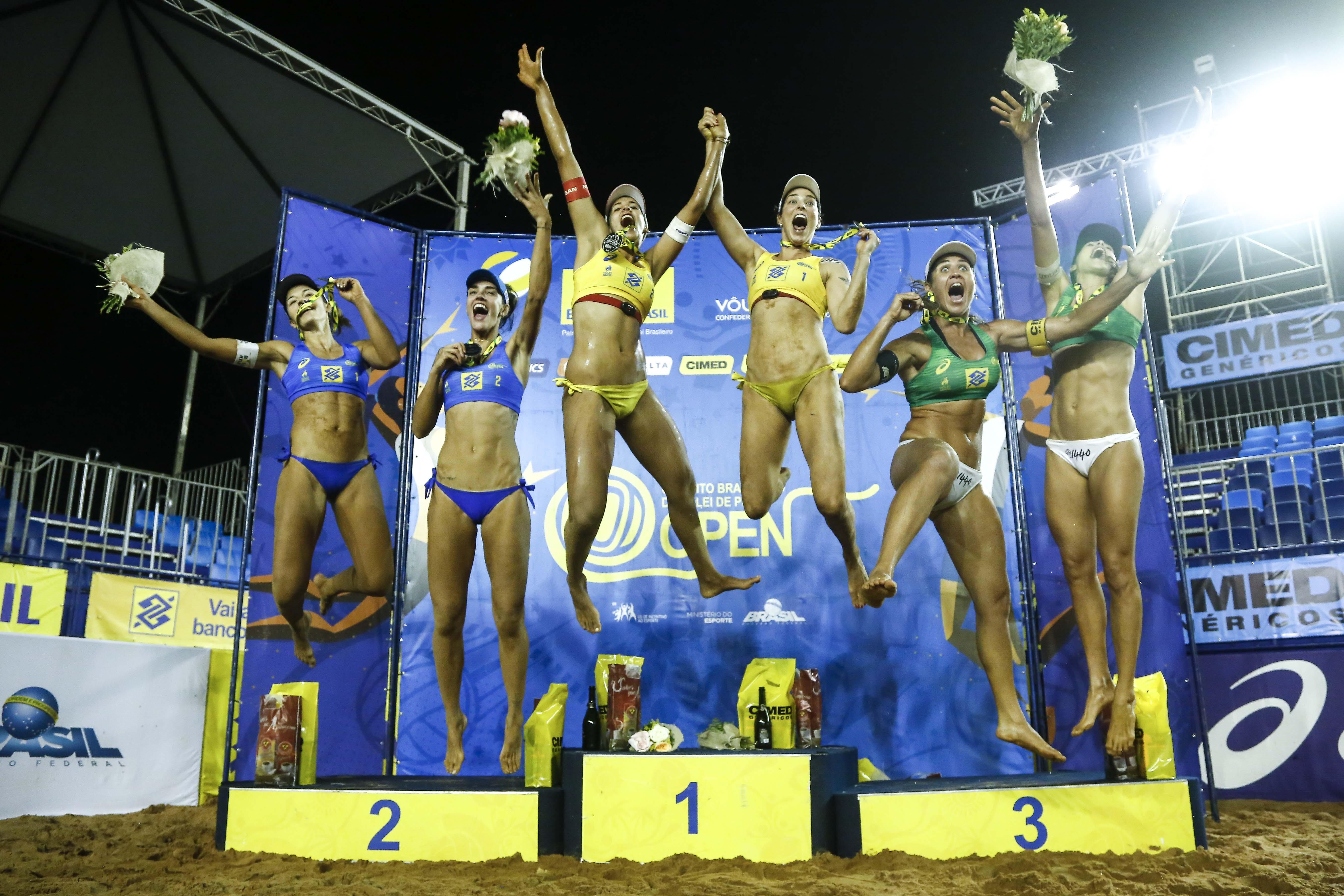 Ágatha/Duda encerra ano com chave de ouro e vencem etapa de Campo Grande (MS)