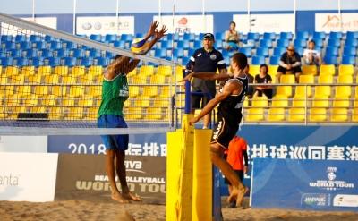 Álvaro Filho e Luciano já avançam às oitavas de final na etapa de Haiyang