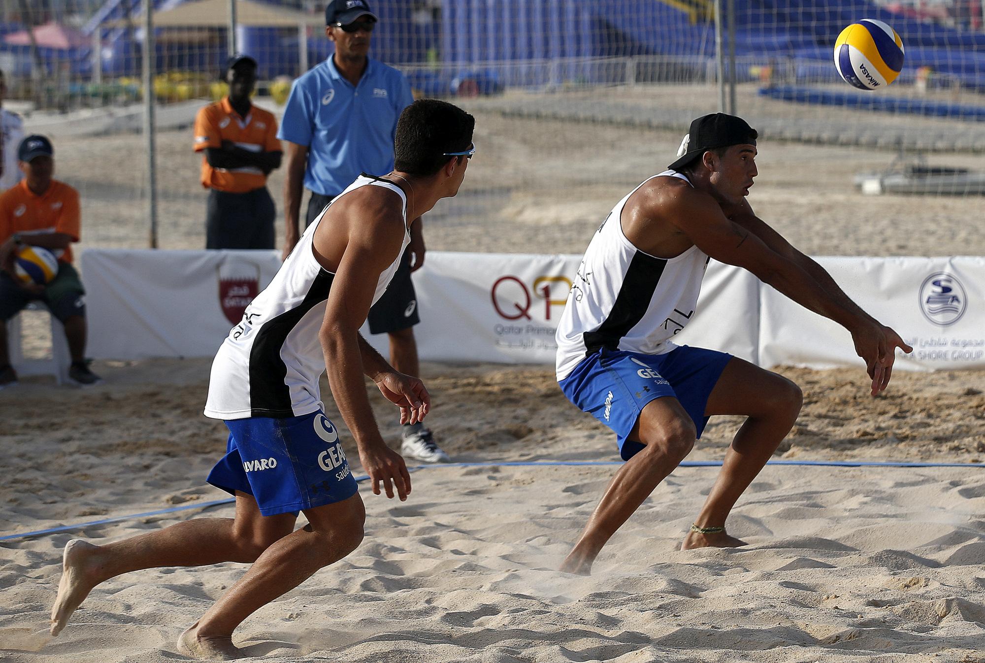 Álvaro Filho e Saymon ficam na quinta colocação na etapa do Qatar
