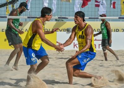 Álvaro Filho e Saymon vão à repescagem na etapa do Qatar
