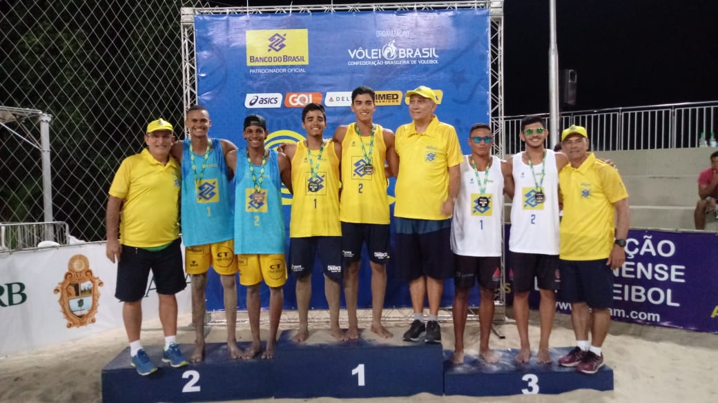 Amanda/Talita (CE) e Renato/Rafael (PB) são os campeões em Manaus