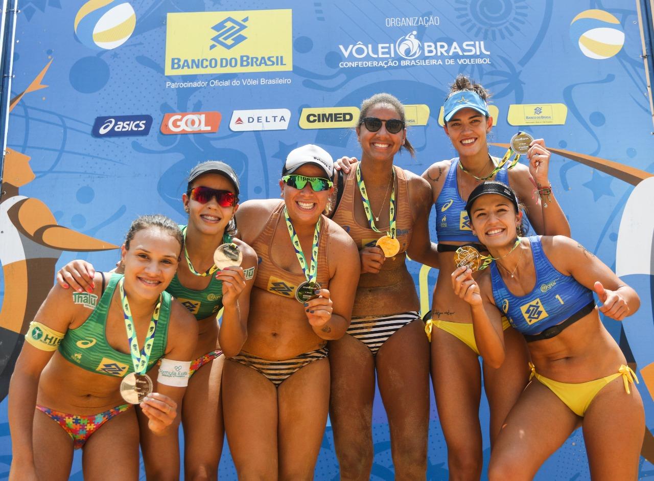 Ana Patrícia e Rebecca levam o ouro na abertura da temporada, em Palmas (TO)