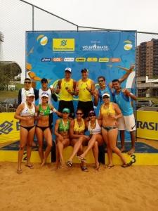 Ana Patrícia/Rebecca e Luciano/Márcio Araújo vencem etapa de abertura em Maringá (PR)