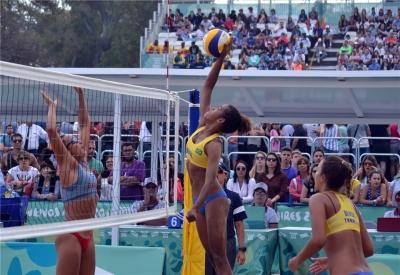 Aninha/Thamela segue na briga por medalhas em Buenos Aires