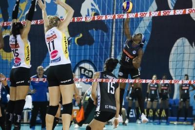 Atual campeão, Dentil/Praia Clube abre a temporada com vitória