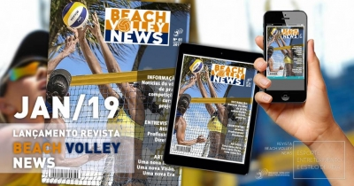 Beach Volley High Performance lança revista sobre vôlei de praia