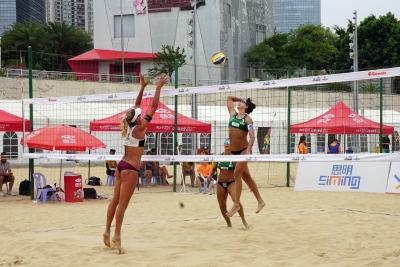 Brasil avança com cinco duplas às oitavas de final na etapa de Xiamen