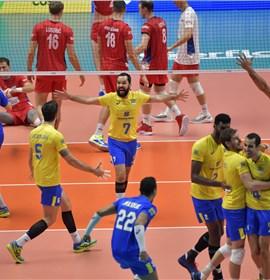 Brasil bate a Sérvia e está na final pela quinta vez consecutiva