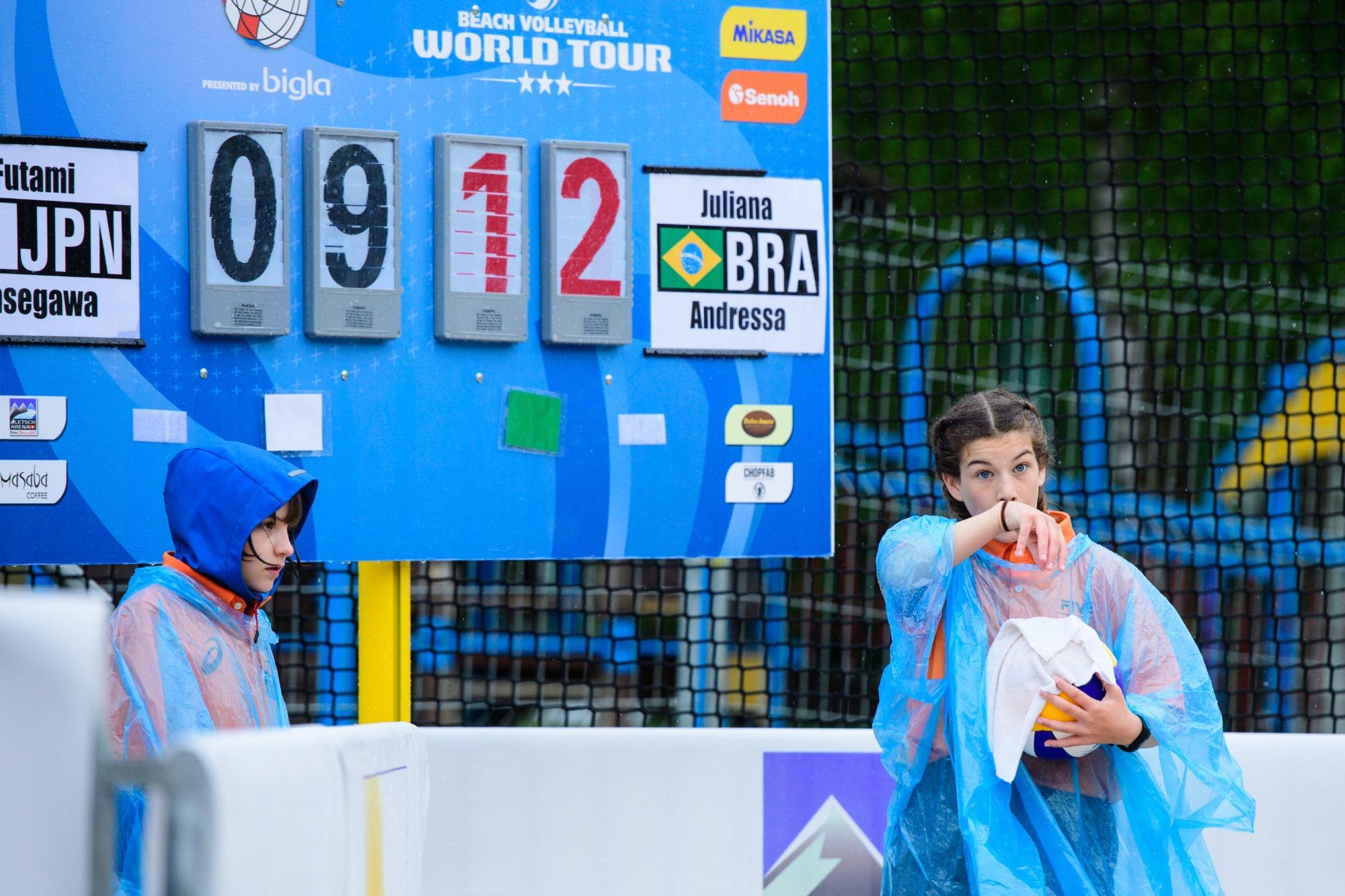 Brasil começa invicto, com três vitórias, em etapa disputada na Suíça