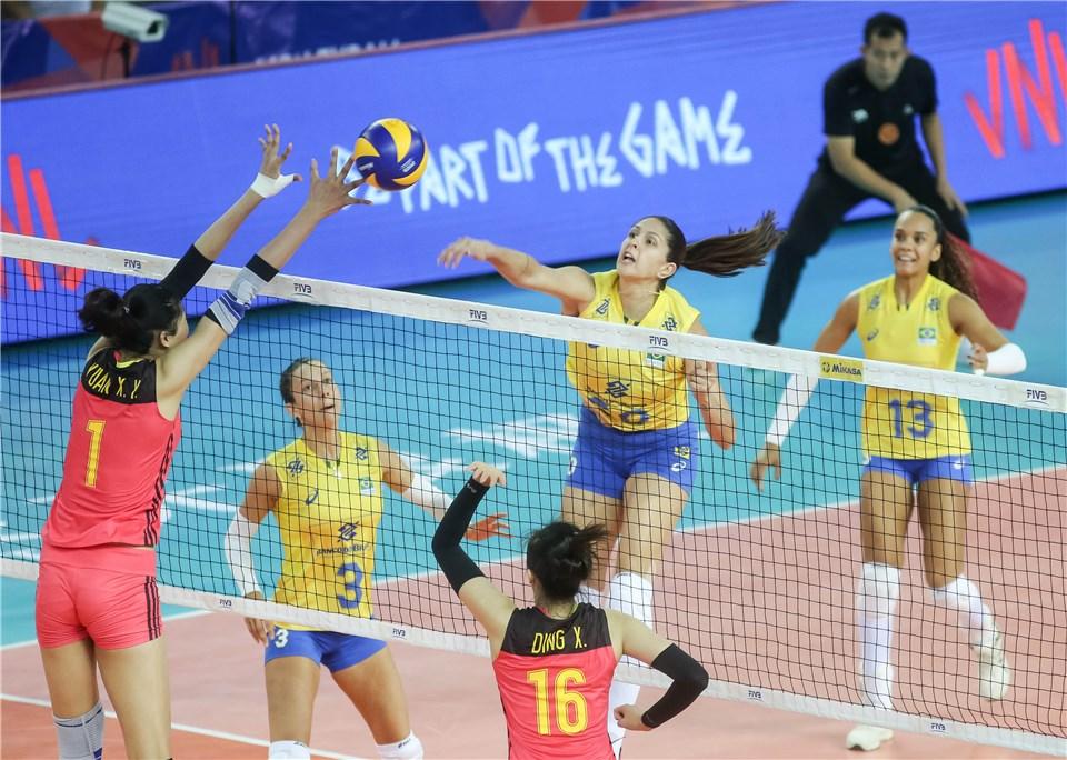 Brasil começa quarta semana com vitória emocionante sobre a China