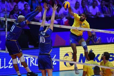 Brasil é superado pela França no tie break