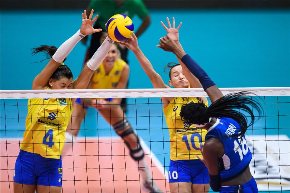 Brasil é superado pela Itália e disputa o bronze