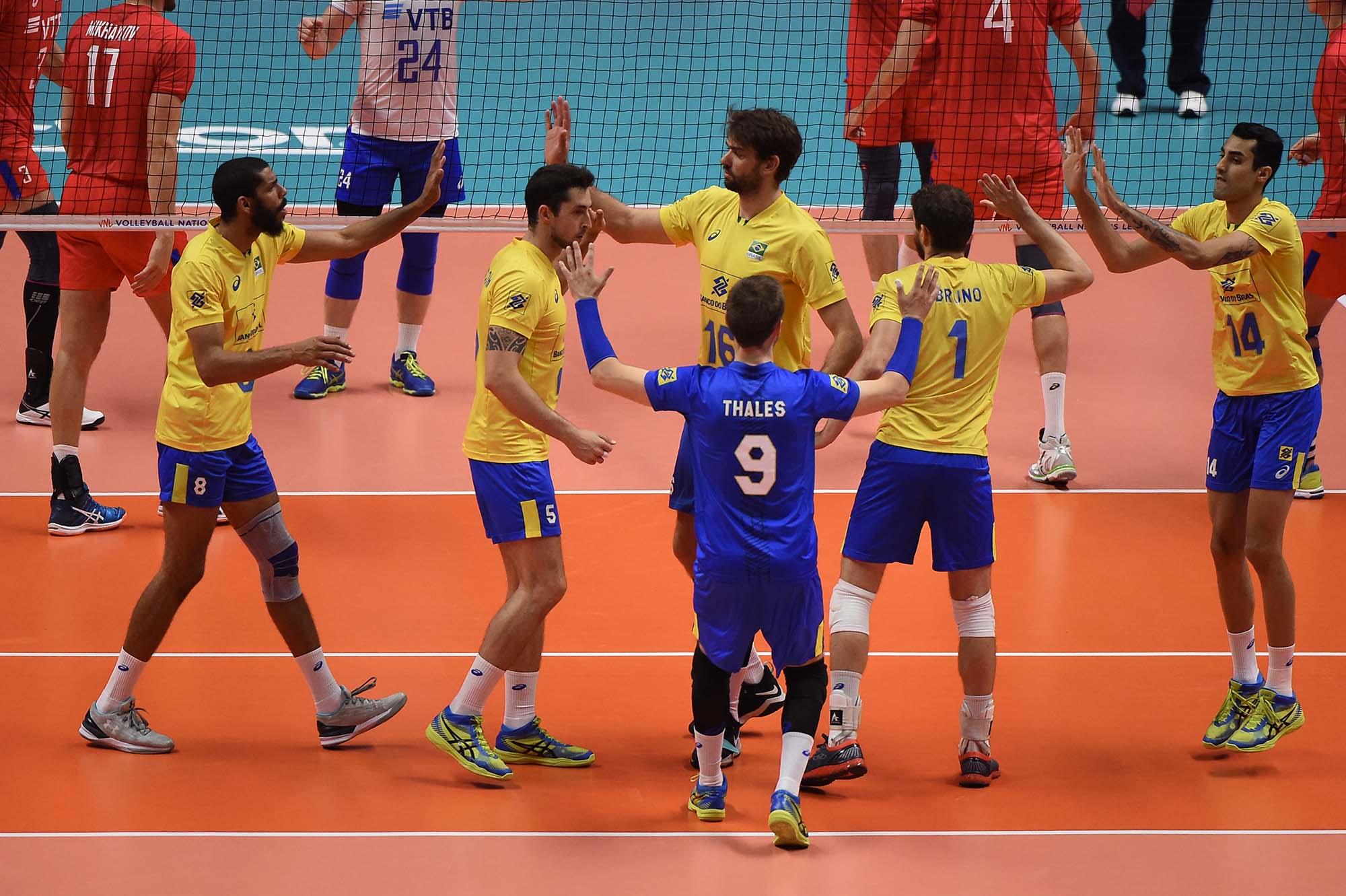 Brasil é superado pela Rússia e busca o bronze diante dos Estados Unidos