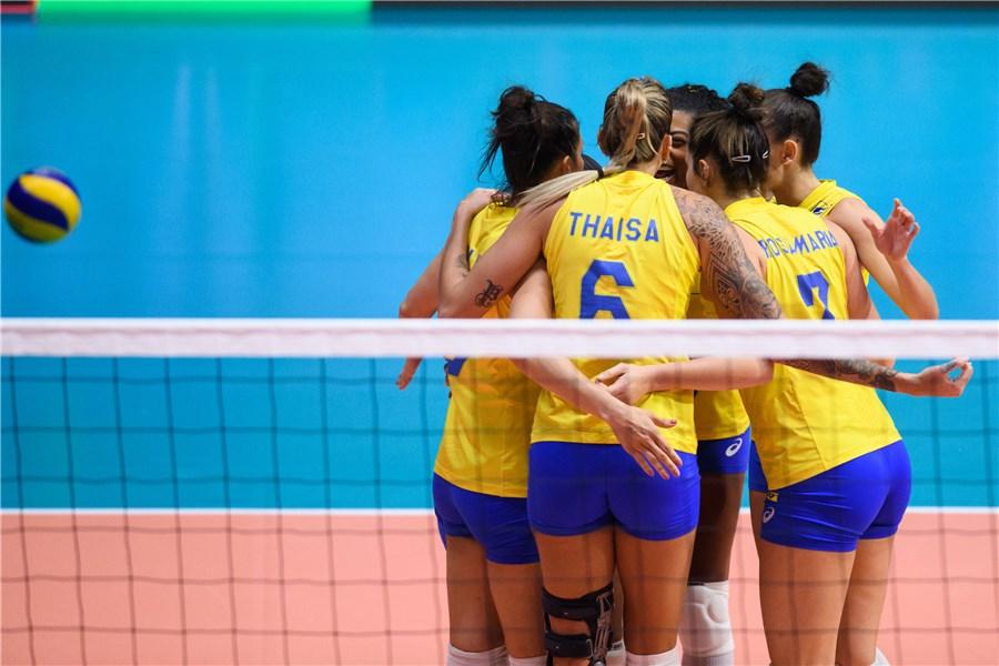 Brasil é superado pela Turquia e fica em quarto lugar