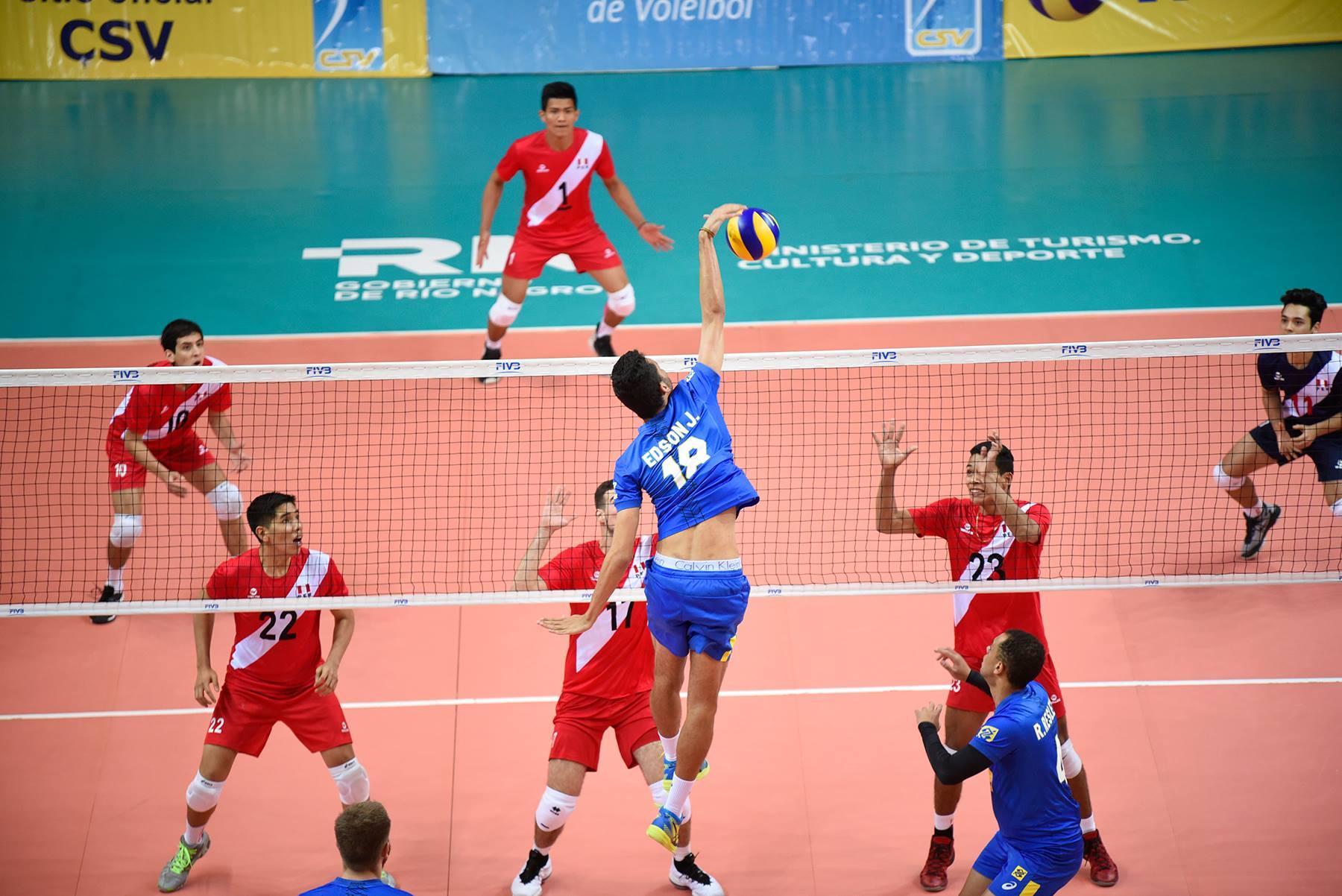 Brasil estreia com vitória sobre o Peru
