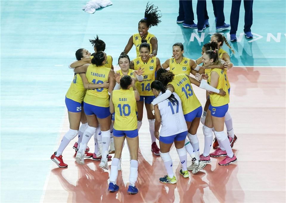 Brasil estreia na quinta semana contra a Bélgica
