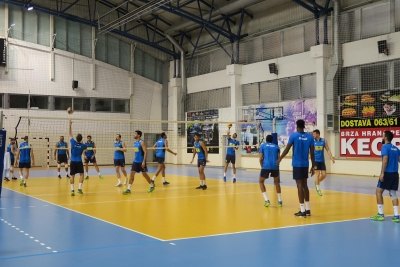 Brasil faz primeiro treino na Sérvia