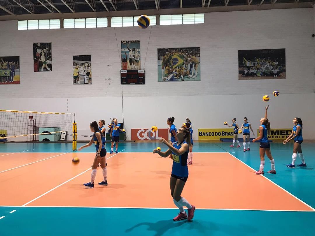 0e67d4f4d86fa CBV - Brasil intensifica treinos a pouco mais de um mês do Sul-Americano
