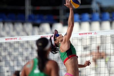 Brasil já garante três duplas femininas nas oitavas de final