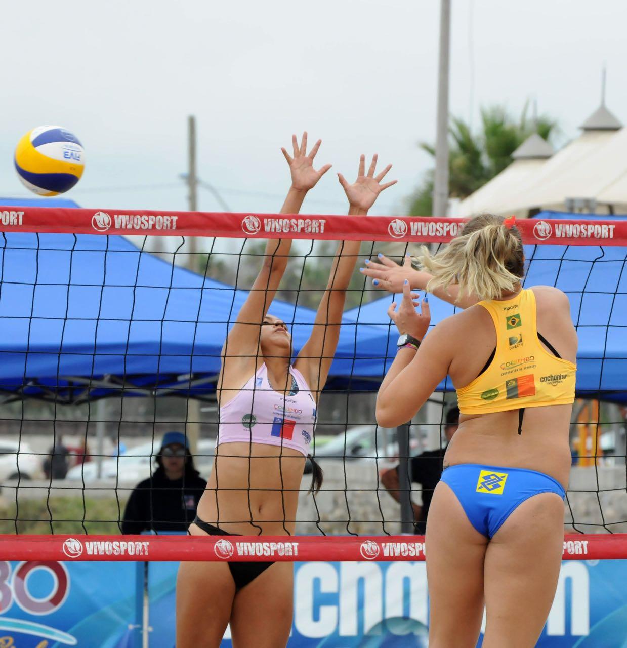 Brasil larga com duas duplas invictas e já classificadas às quartas no Chile
