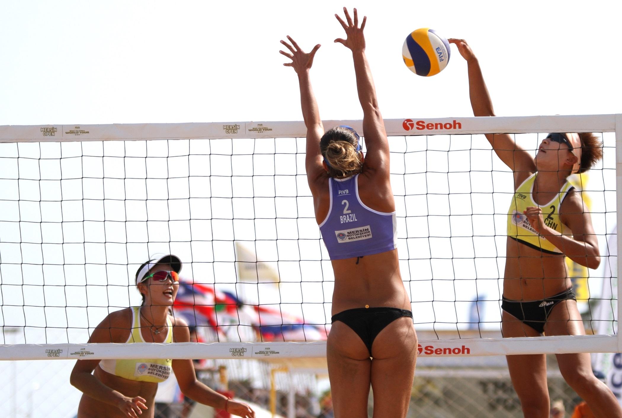 Brasil larga com três vitórias e vai às oitavas na etapa da Turquia