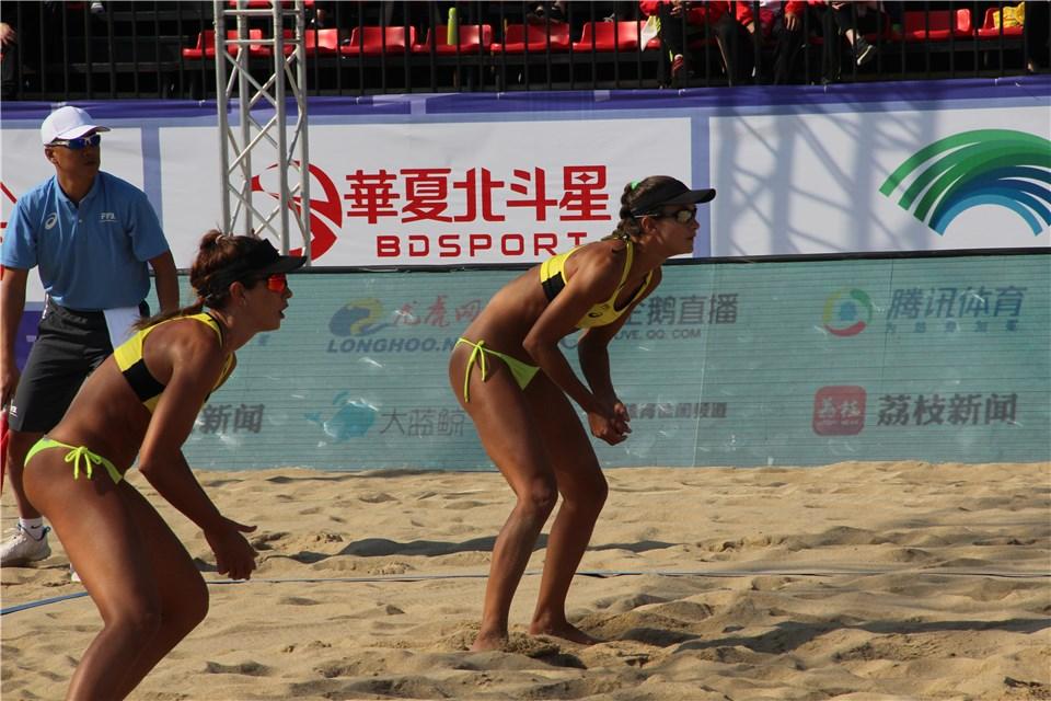 Brasil segue com três duplas no torneio feminino em Yangzhou