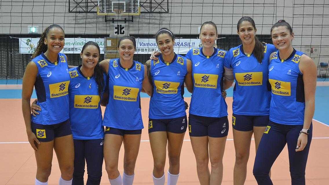 Brasil tem sete novatas no grupo que se prepara para o Mundial