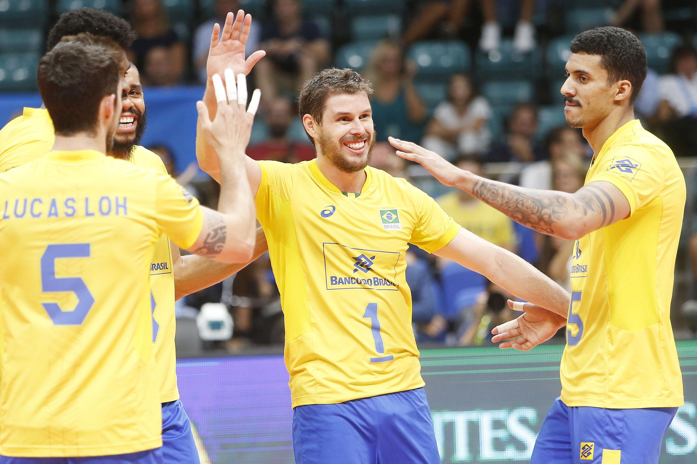 Brasil vence a Austrália na primeira partida da segunda fase