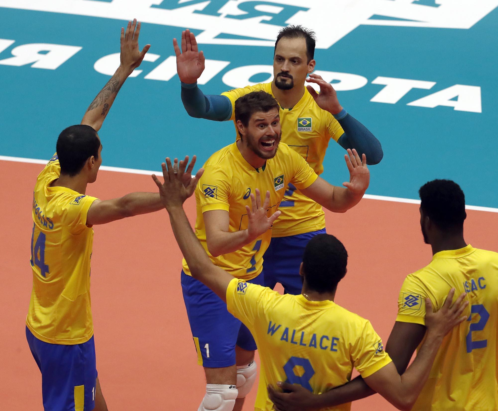 Brasil vence a França em jogo de alto nível
