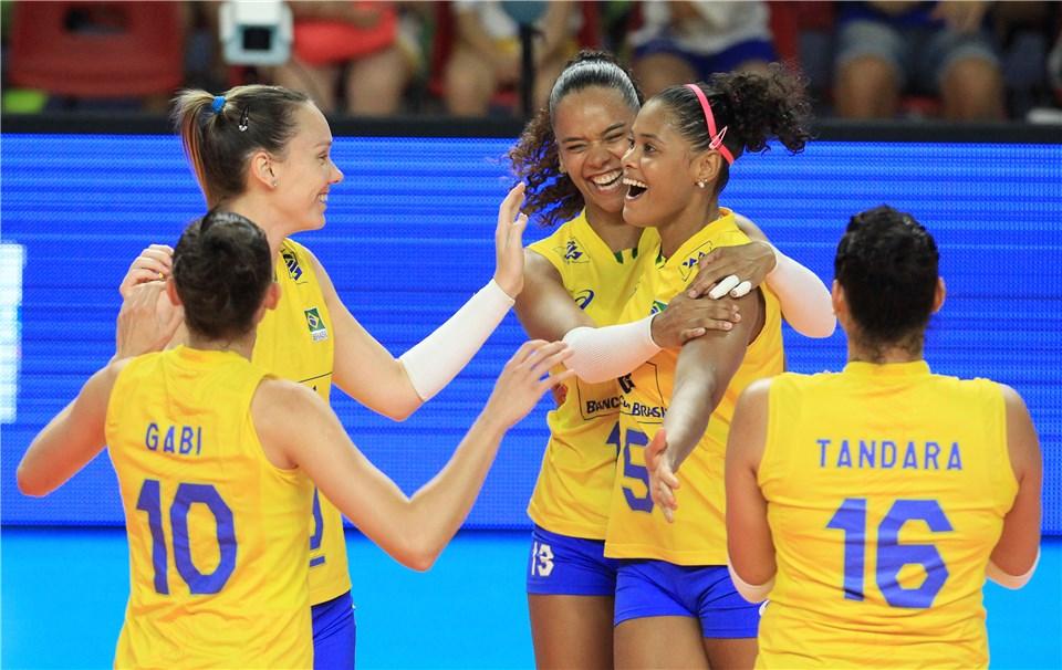 Brasil vence Bélgica e se classifica para Fase Final