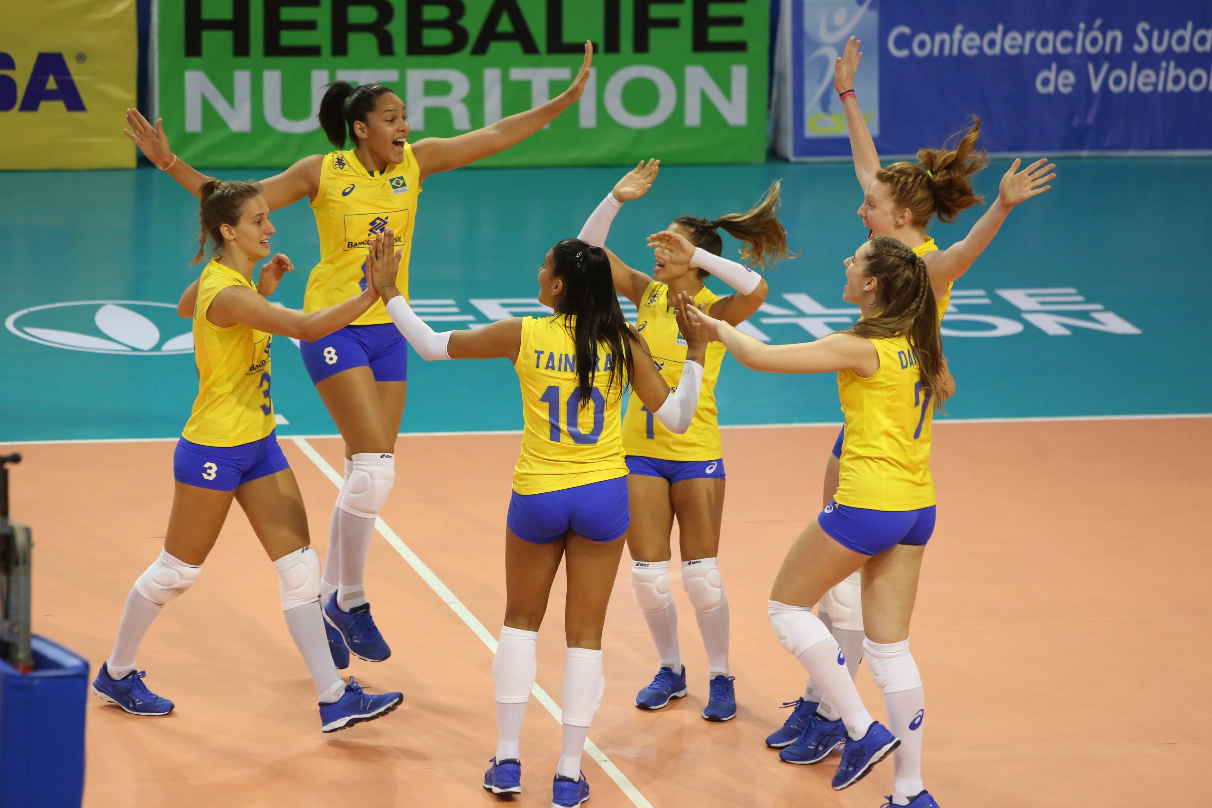 Brasil vence o Peru e garante vaga no Mundial da categoria