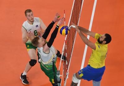Brasil vence os donos da casa por 3 sets a 0