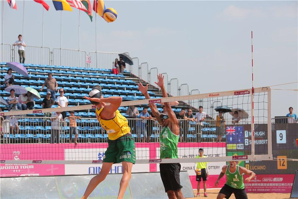 Brasileiros seguem para as quartas de final em Qinzhou