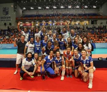 Camponesa/Minas vence Sesc RJ e fica com o título do Sul-Americano de clubes