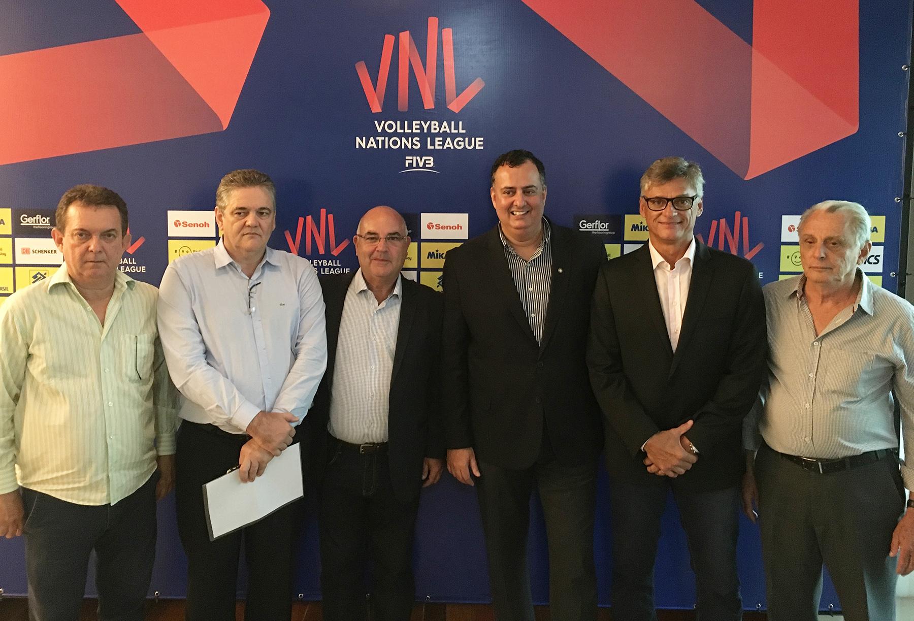CBV e Governo de Goiás anunciam sede da etapa do Brasil
