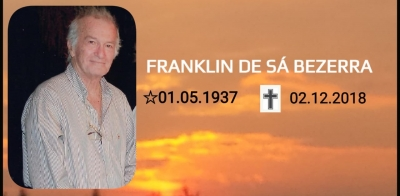 CBV lamenta falecimento de Franklin Bezerra