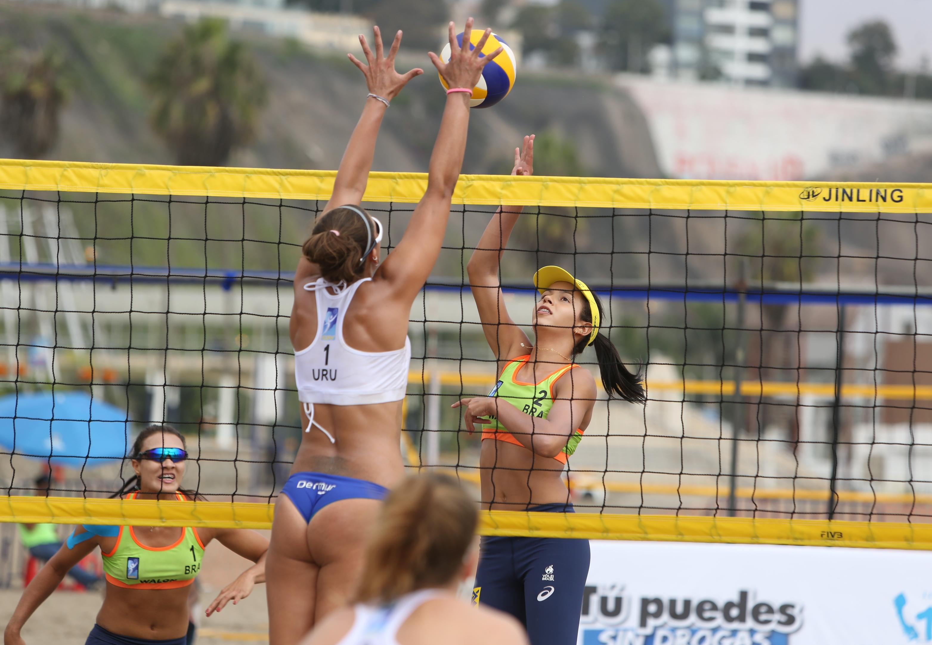 Com nova vitória, meninas do Brasil avançam direto às semis em Lima
