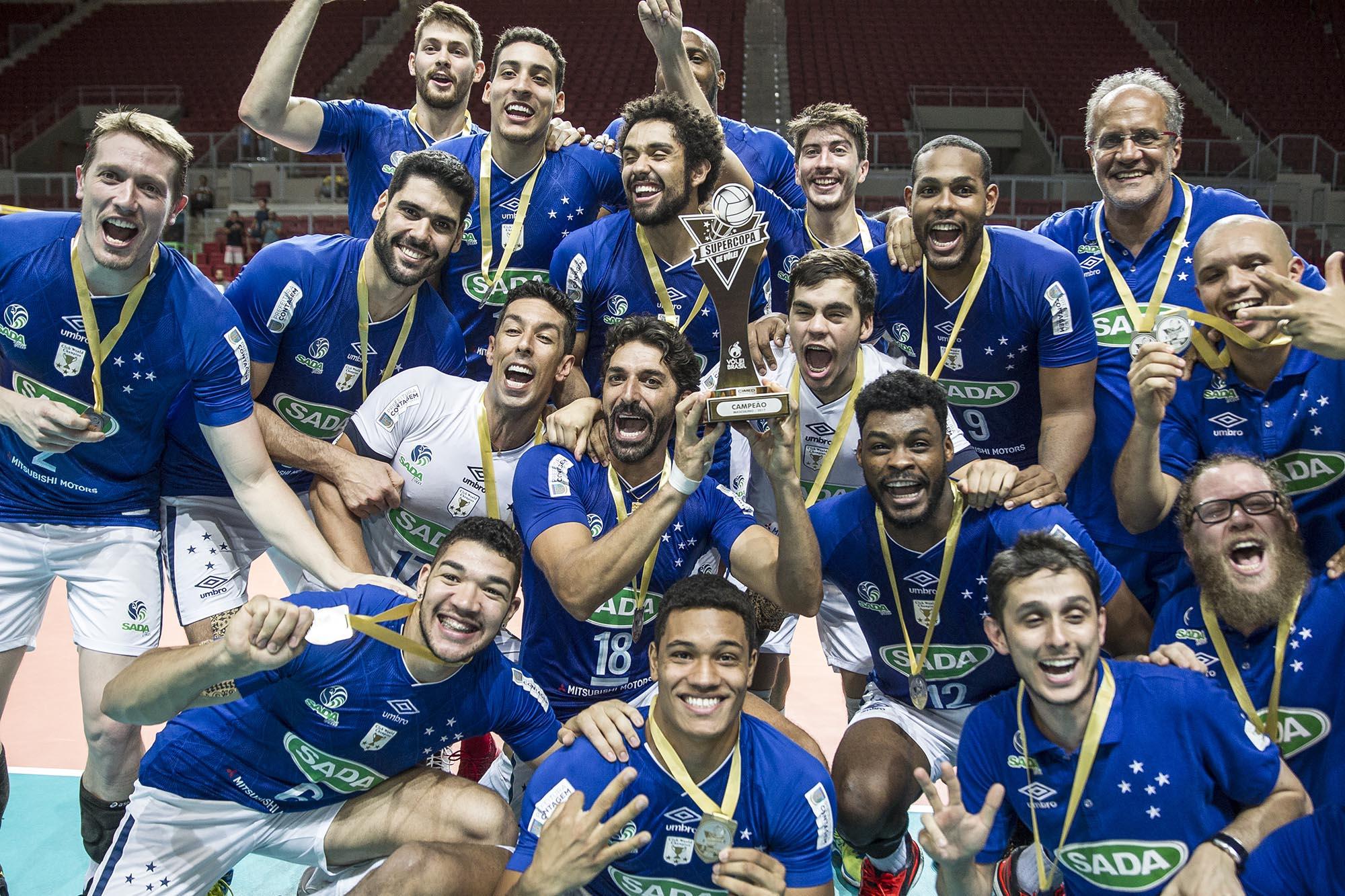Confronto entre Sada Cruzeiro e Sesi-SP abre a temporada nacional de clubes
