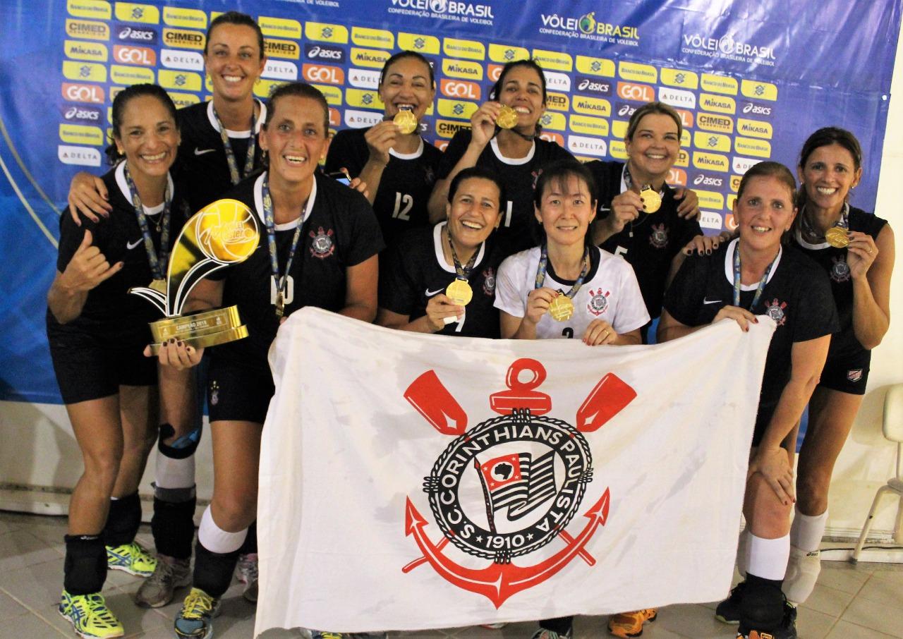 Corinthians conquista o bicampeonato na 50+ feminina