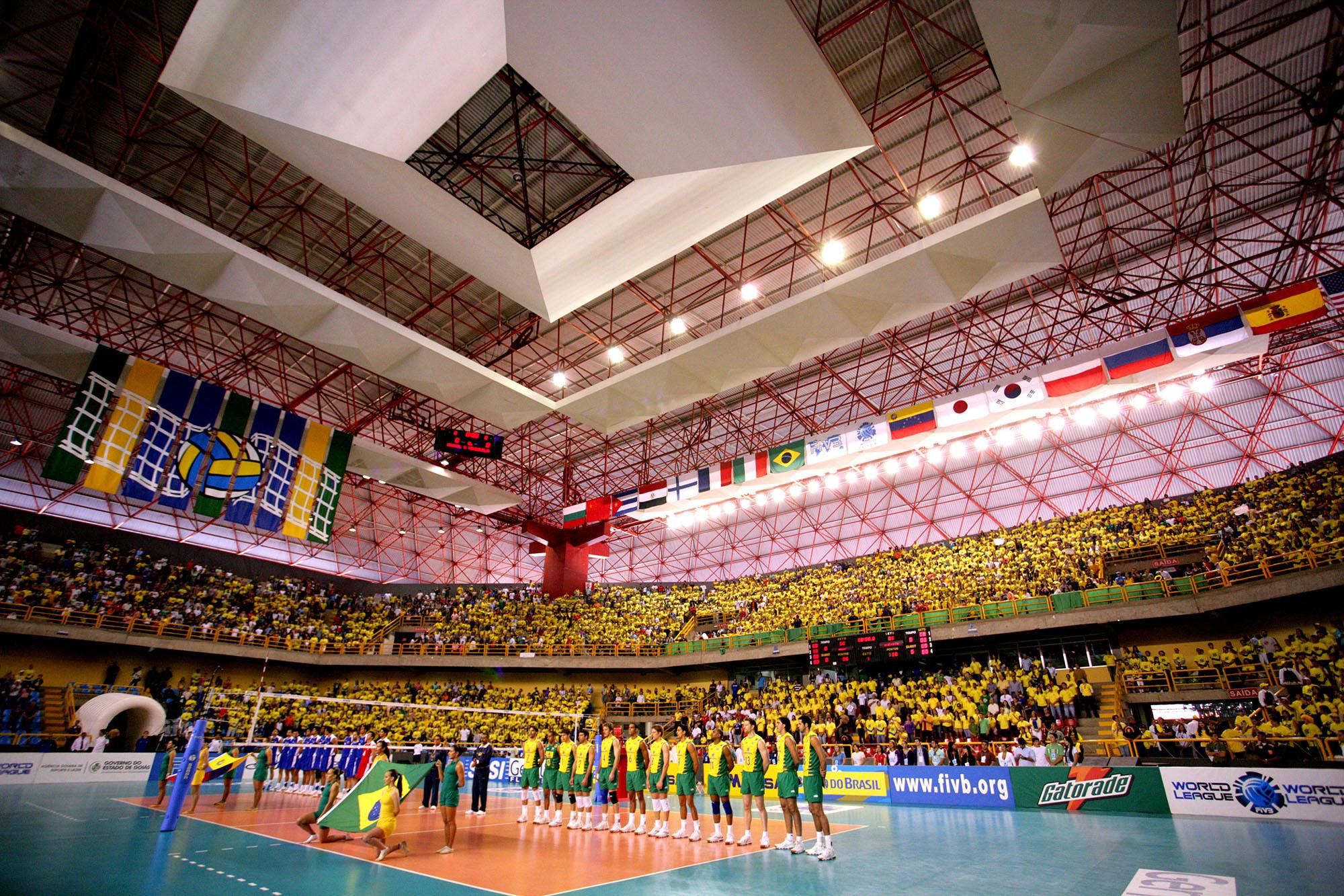 Credenciamento aberto para a Liga das Nações masculina de voleibol em Goiânia