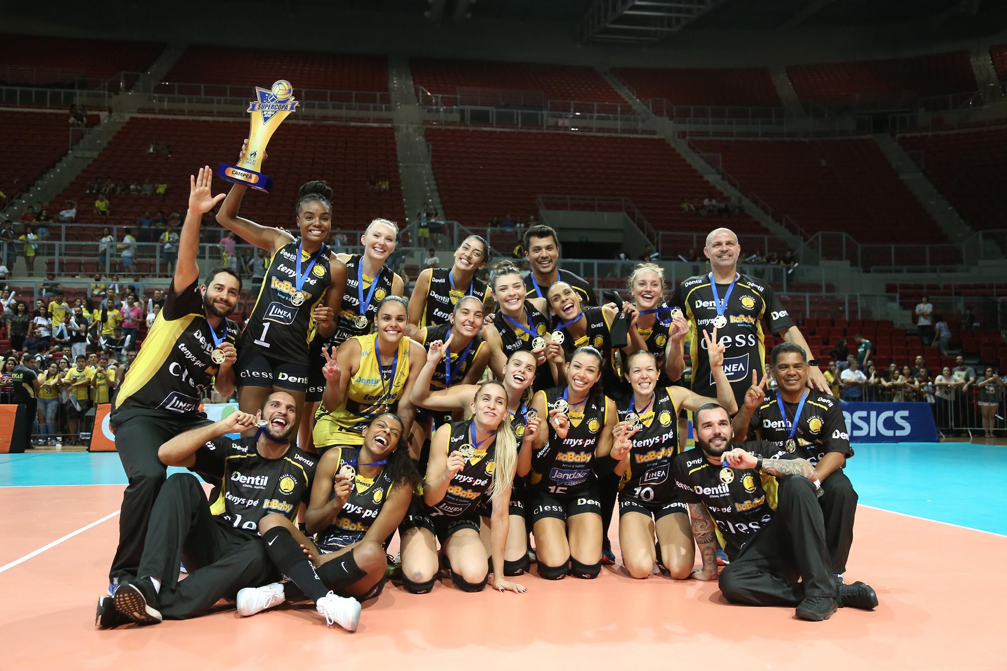 Dentil/Praia Clube é campeão da edição 2018