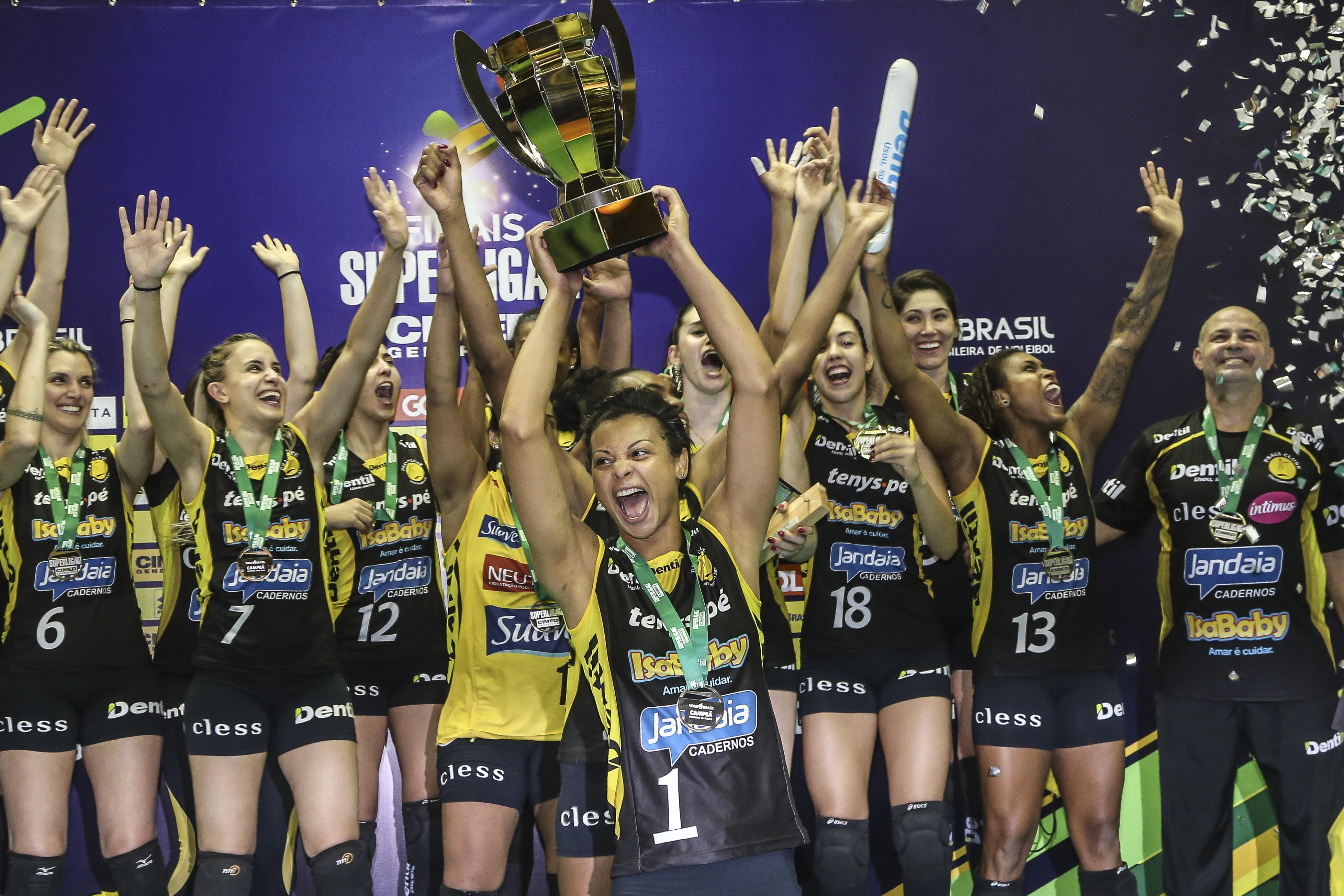 Dentil/Praia Clube vence Sesc RJ e é campeão