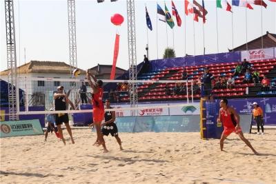 Duplas brasileiras começam com saldo positivo no torneio masculino