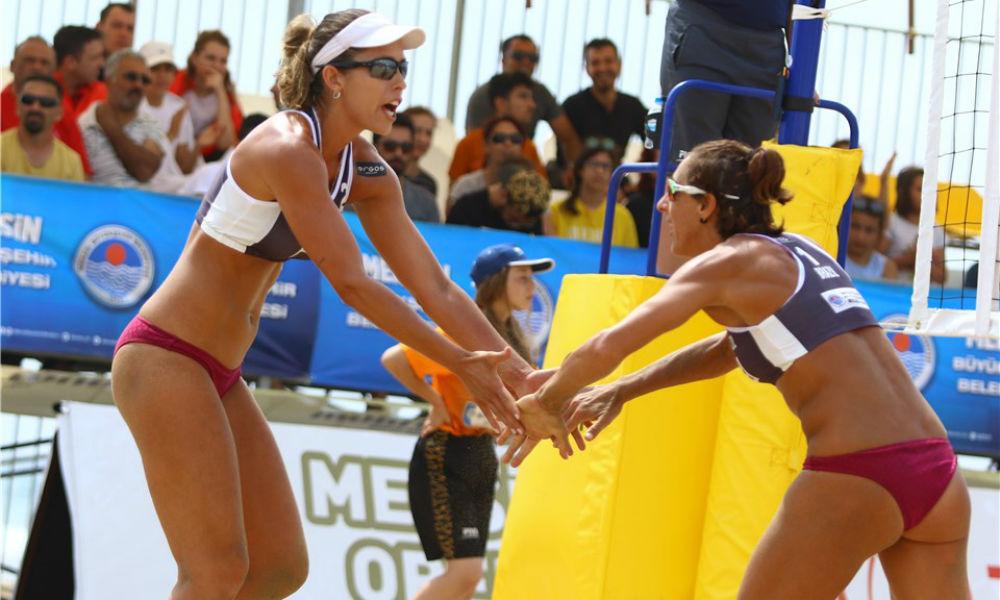 Duplas brasileiras disputam etapas na China e Áustria neste final de semana